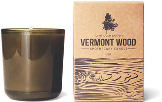 Vermont Wood Candle - Fir - Farmhouse Pottery