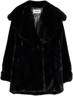 we11done faux fur oversized coat