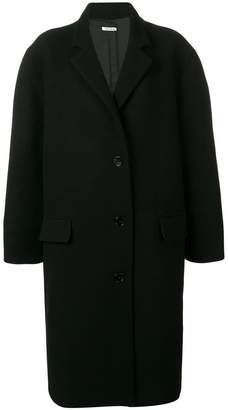 Krizia oversized single breasted coat