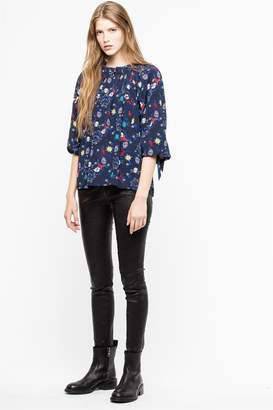 Zadig & Voltaire Theresa Print T Shirt