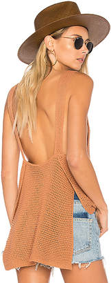 ale by alessandra Noa Knit Tank in Tan $138 thestylecure.com