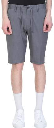Giabs Grey Polyester Shorts