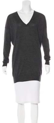 Joseph V-Neck Wool Sweater