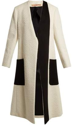 DAY Birger et Mikkelsen SUMMA Collarless bi-colour coat