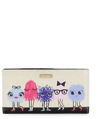 Kate Spade Kate Spade New York Monster Graphic Prints Wallet