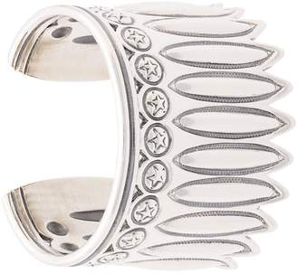 Sanderson Cody engraved cuff bracelet