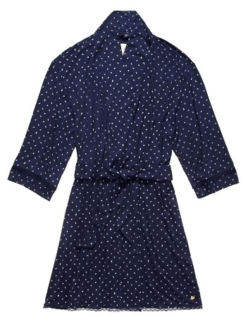 Juicy Couture Anchor Printed Robe