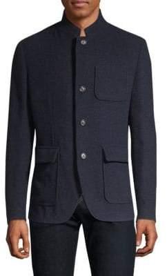 Eleventy Tailored Cashmere Jacket