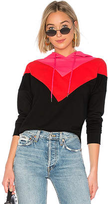 by the way. Heather Color Block Hoodie