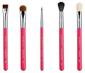 Sigma Beauty Limited-Edition Holiday All-Eyes Mini Brush Five-Piece Set