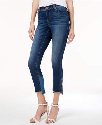 INC International Concepts I.n.c. Curvy-Fit Step-Hem Skinny Jeans, Created for Macy's