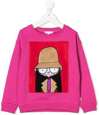 Little Marc Jacobs appliqué sweatshirt
