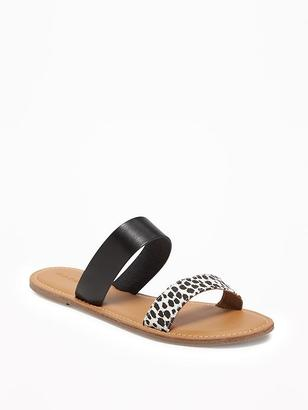 Double-Strap Sandals for Women $19.94 thestylecure.com
