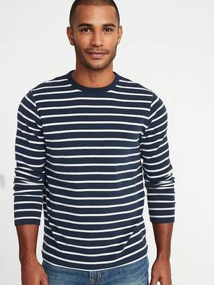 Old Navy Striped Plush-Knit Built-In Flex Tee for Men