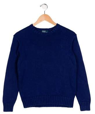 Polo Ralph Lauren Boys' Knit Embroidered Sweater