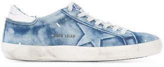 Golden Goose denim Super Star trainer