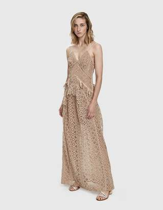 Self-Portrait Self Portrait Lace Paneled Dress