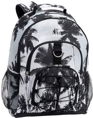 Pottery Barn Teen Gear-Up Black/White Palms Backpack