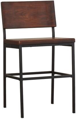 Progressive Furniture Wood/Metal Bar Stool