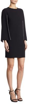 DKNY Cape Sleeve Dress $159 thestylecure.com