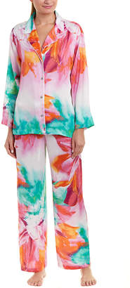 Natori 2Pc Pajama Pant Set