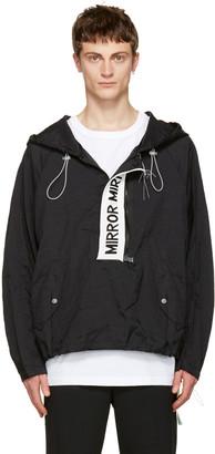 Off-White Black 'Mirror Mirror' Anorak Jacket $1,255 thestylecure.com