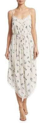 Zimmermann Pintuck Slip Dress