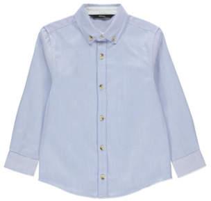 George Pinstripe Long Sleeve Shirt