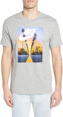 Nike Sportswear Sunset Palms Graphic T-Shirt