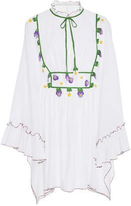 MY BEACHY SIDE Wide Sleeve Mini Dress