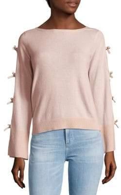 Bow-Sleeve Sweater