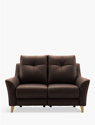 G-Plan G Plan Hirst Power Recliner Small 2 Seater Leather Sofa