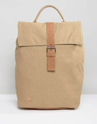 Showing 5138 Top Handbag Brands At Asos Mi Pac Day Pack Canvas Fold Backpack In Sand