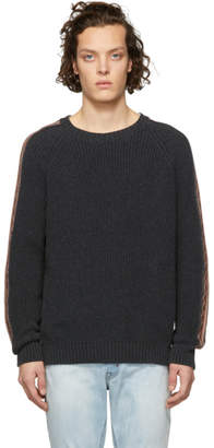 Alanui Grey Crewneck Sweater