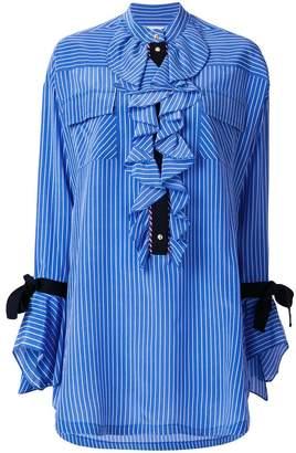 Philosophy di Lorenzo Serafini ruffle shirt dress