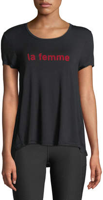 X by Gottex La Femme Ringer Tee