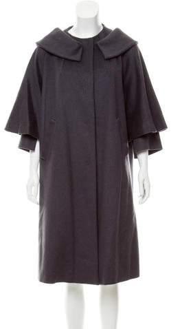 Fendi Long Cashmere Coat