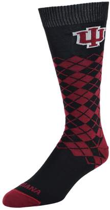 Women's Mojo Indiana Hoosiers Argyle Socks