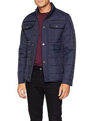 Tom Tailor Men's Padded Jacke Jacket,Medium