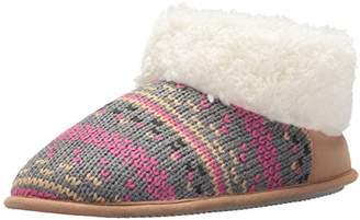 Dearfoams Women's Patterned Knit Bootie