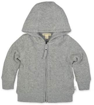 Buy Burt's Bees Baby® Quilted Bee Jacket in Grey!