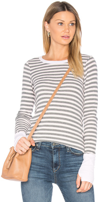 Michael Stars Unfinished Edge Sweater $78 thestylecure.com