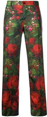 F.R.S For Restless Sleepers rose print trousers