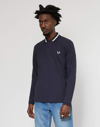 Fred Perry Made In England M2 Single Tipped Polo Shirt Navy