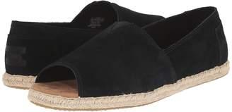 Toms Alpargata Open Toe Women's Flat Shoes