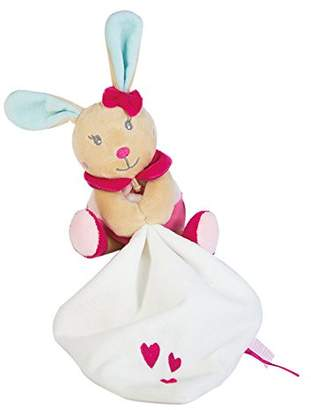 Baby Nat 'Puppet with Soft Toy Pink Pearl Rabbit Small