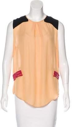 By Malene Birger Embellished Sleeveless Top