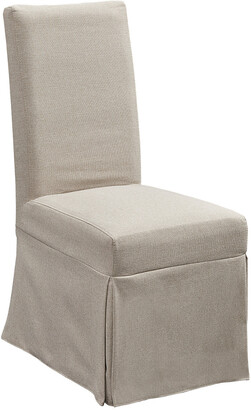 Progressive Furniture Set Of 2 Upholstered Parsons Chair W/ Cover
