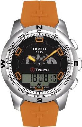 Tissot (ティソ) - [ティソ]TISSOT T-Touch II(ティー・タッチ 2) ユングフラウ鉄道敷設100年記念モデル T0474204705111 メンズ 【正規輸入品】