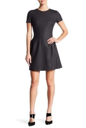 f4fd872d590 ... Theory Corset Wool Blend T-Shirt Dress